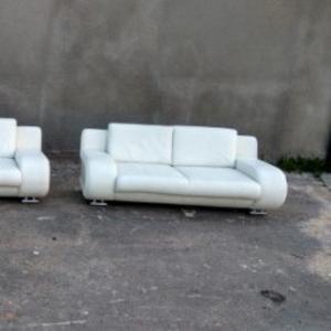 Кожаная мягкая Б/У мебель из Германии