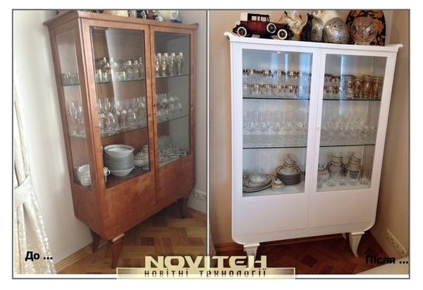 Ремонт і реставрація меблів,  дверей,  сходів,  кухоннх фасадів та інших  2