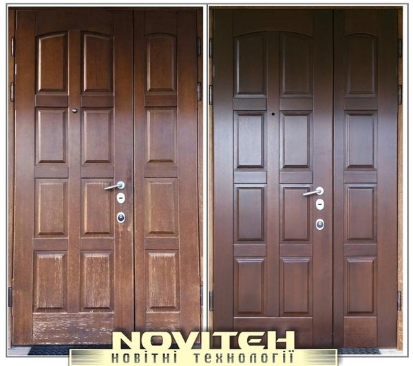 Ремонт і реставрація меблів,  дверей,  сходів,  кухоннх фасадів та інших  5