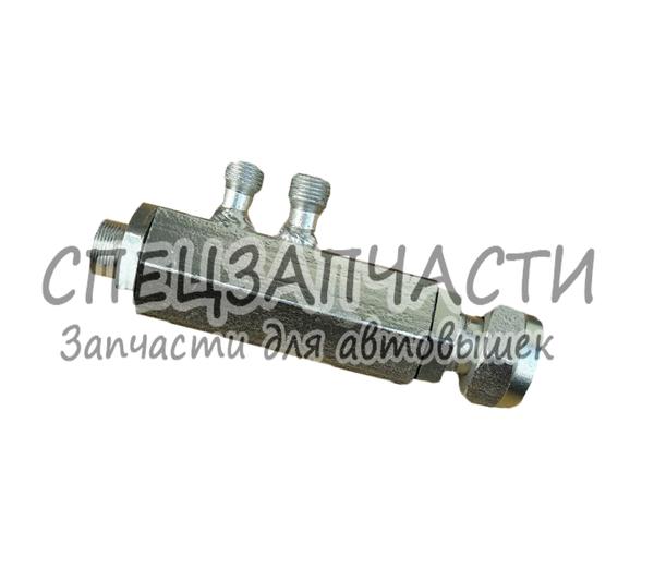 Гидрозамок гидроцилиндра подъема стрелы автогидроподъемника АП-17, 18. 2